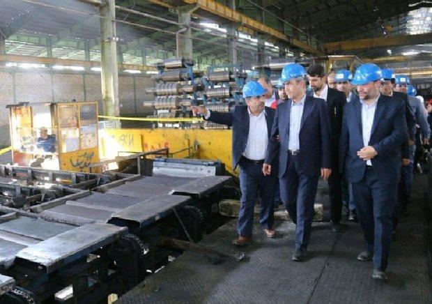 استاندار آذربایجان شرقی از واحدهای صنعتی بناب بازدید کرد