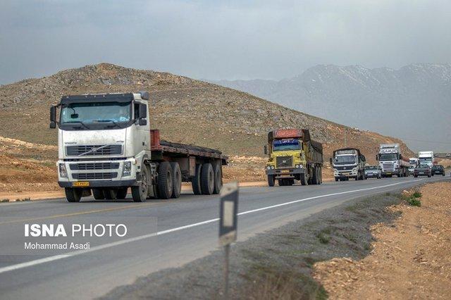 کامیون داران نگران امنیت راه ها نباشند