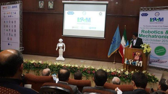 کنفرانسی که با مشارکت رباتها کلید خورد