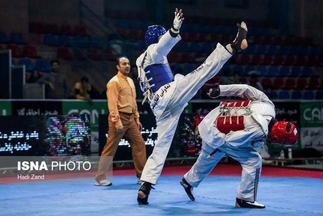 قهرمانی البرزی ها در مسابقات کشوری تکواندو