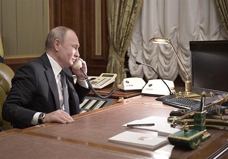 رایزنی تلفنی پوتین و زلنسکی درباره وخامت اوضاع در شرق اوکراین