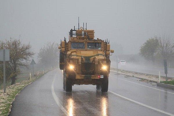 ارسال تجهیزات جدید ترکیه به مرز با سوریه