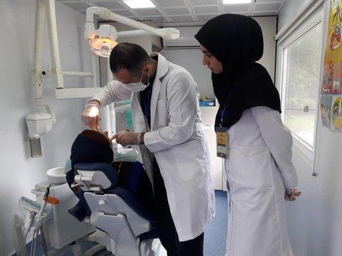دانشجویان دانشگاه علوم پزشکی گیلان در مناطق محروم خدمت رسانی کردند