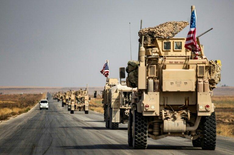 خروج نظامیان آمریکایی از بزرگترین پایگاه نظامی در شمال سوریه