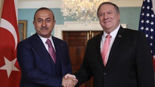 گفتگوی تلفنی وزیران خارجه آمریکا و ترکیه