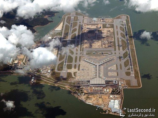 فرودگاه های برتر دنیا در سال 2012 : 1- فرودگاه بین المللی هنگ کنگ