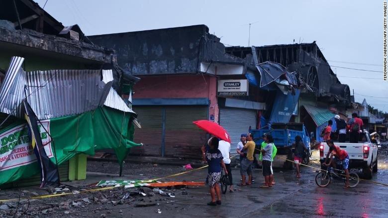 زلزله 6.8 ریشتری در فیلیپین ، یک دختر شش ساله بین جان باختگان است
