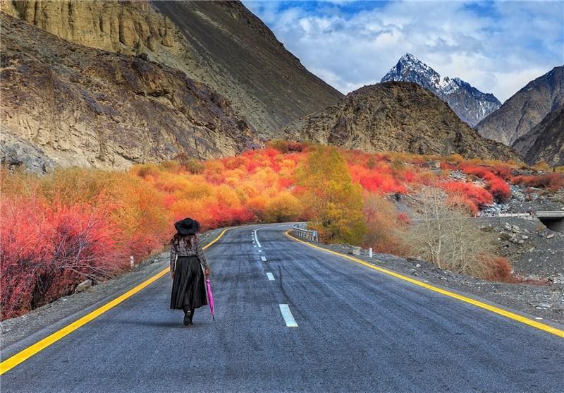 زیبایی دره گوجال؛ منطقه مرزی پاکستان با چین و افغانستان در قاب تصویر
