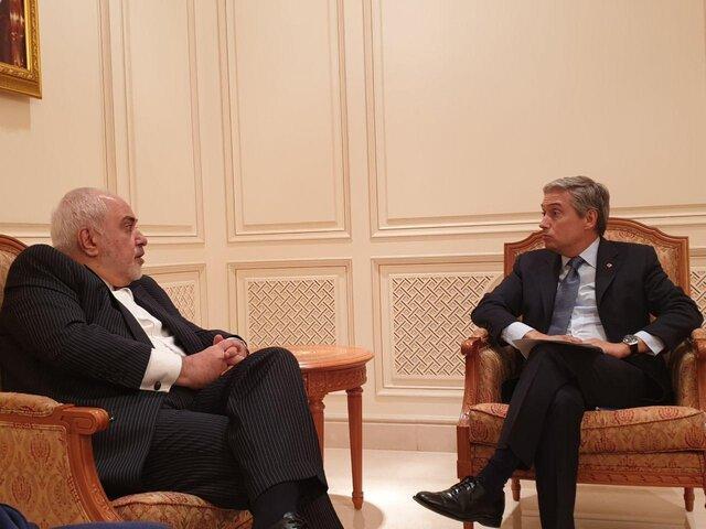 گفت وگوی ظریف و وزیر خارجه کانادا درخصوص سانحه سقوط هواپیمایی اوکراینی