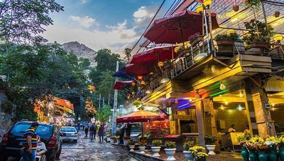 ییلاقِ دربند، گردشگاهی فرح بخش در تهران