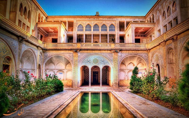 خانه عباسیان، شاهکاری از معماری ایرانیان در کاشان