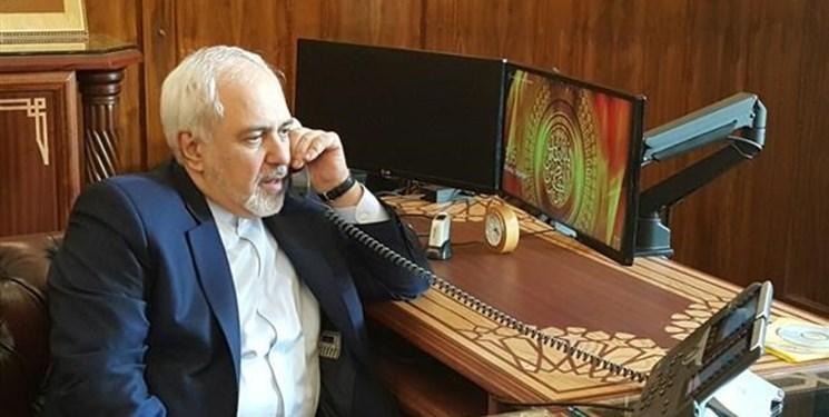 ظریف در گفتگوی تلفنی با همتای انگلیسی: با تحریم های آمریکا علیه ملت ایران همراهی نکنید