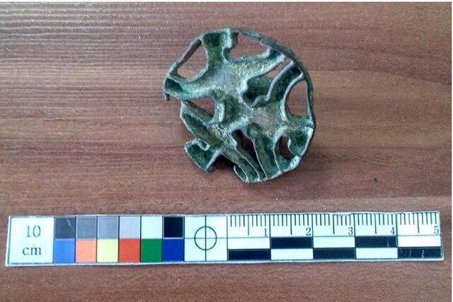 یک عدد مهر استامپی در شهرستان فاروج کشف شد