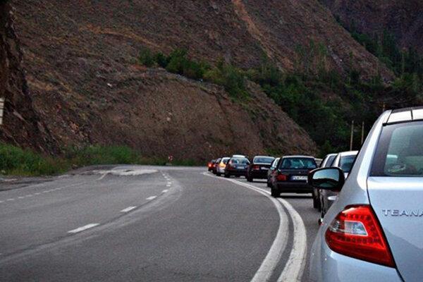 چالوس و هراز عصر جمعه 9 خرداد یک طرفه می شود