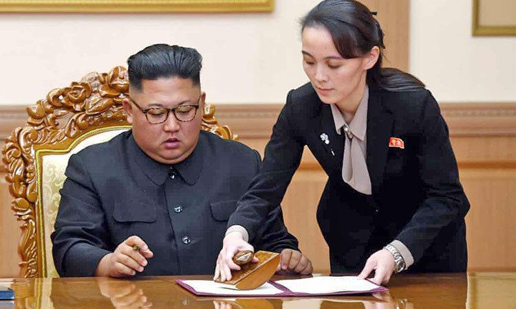 تهدید سئول توسط خواهر رهبر کره شمالی