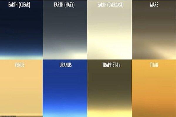 غروب آفتاب را در 4 سیاره منظومه شمسی ببینید