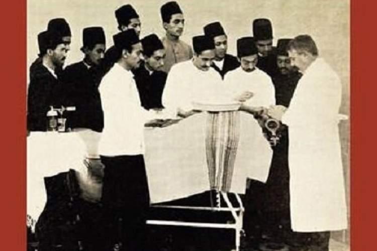 مریض خانه ای که میسیون آمریکایی برای ناصرالدین شاه ساخت
