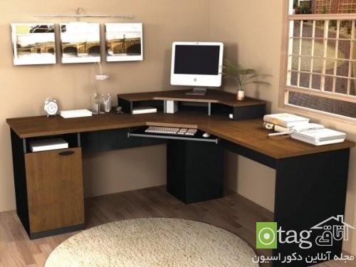 مدل میز کامپیوتر اداری مناسب برای دکوراسیون داخلی منزل