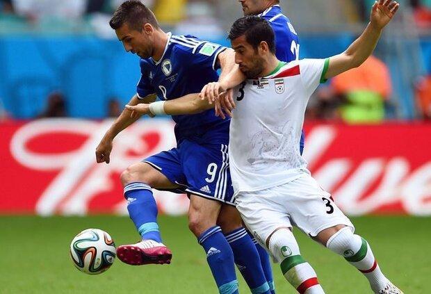 برگزاری ملاقات تیم های ملی فوتبال ایران و بوسنی قطعی شد