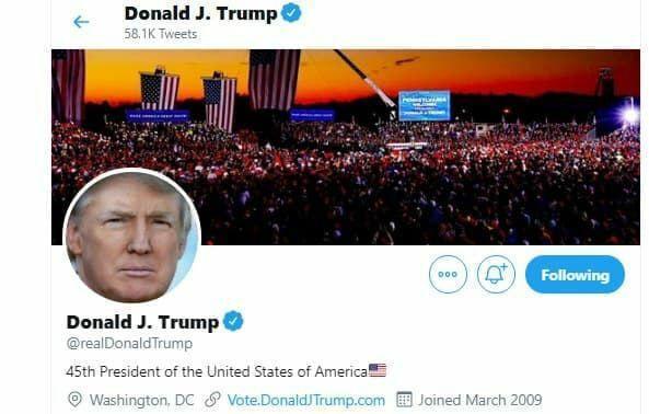 خبرنگاران ادامه توییت های اعتراضی ترامپ به نتایج شمارش آراء