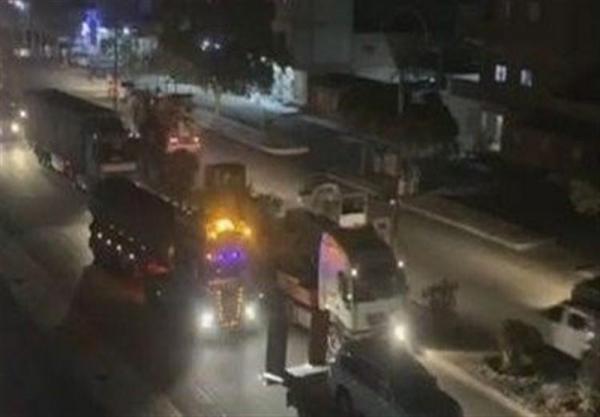 قاچاق دهها تانکر حامل سوخت دیگر از سوریه به شمال عراق توسط آمریکا