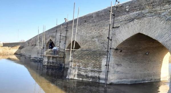 انتها عملیات بازسازی پل تاریخی چالان چولان
