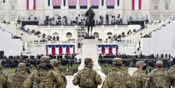 رویترز: 200 نفر از نظامیان حفظ امنیت مراسم تحلیف بایدن کرونا گرفته اند