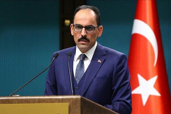 سخنگوی ریاست جمهوری ترکیه و مشاور امنیت ملی آمریکا تبادل نظر کردند