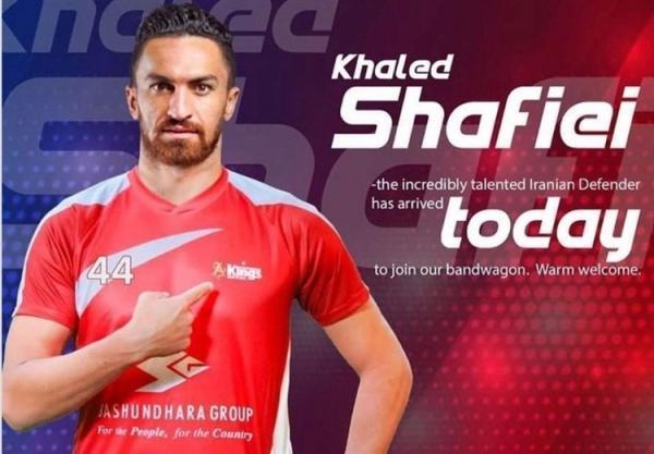 بازیکن ایرانی در بنگلادش می ماند