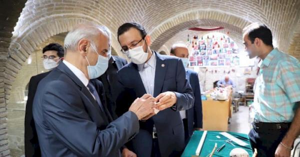 بازدید سفیر ارمنستان از موزهای رختشویخانه، مردان نمکی و بازارچه صنایع دستی زنجان