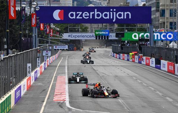 پیشتازان فصل 2021 فرمول یک در گرندپری آذربایجان بدشانسی آوردند