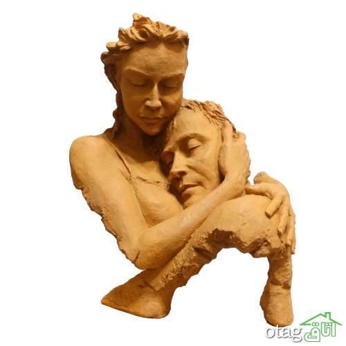 25 مدل مجسمه دکوری در میزان های کوچک و عظیم مناسب هال خانه [قیمت مناسب]