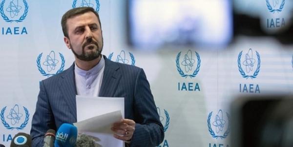 غریب آبادی: سفر معاون گروسی به تهران در راستای فعالیت های روتین پادمانی است