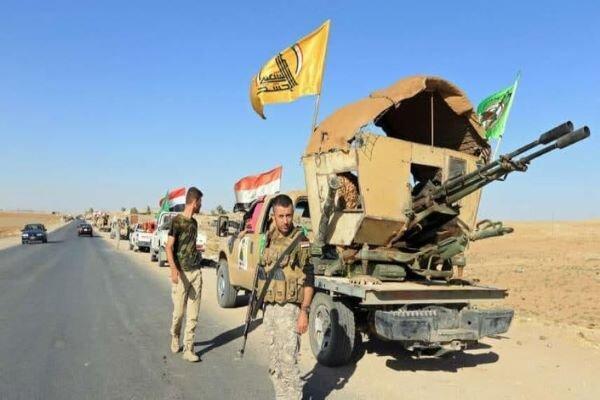 آماده باش نیروهای حشد شعبی در محور غربی عراق
