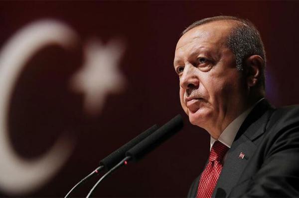 اردوغان:هرکس در منطقه می خواهد سنگی جابه جا کند باید اول از ترکیه اجازه بگیرد