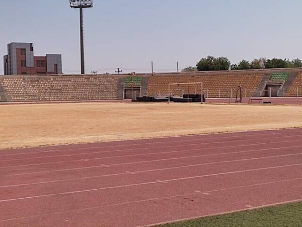 توضیحی درباره دلیل زرد شدن زمین چمن استادیوم تختی اهواز